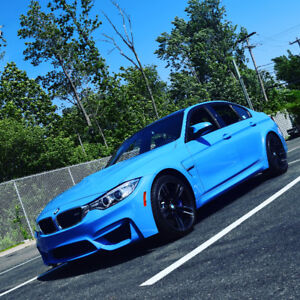2017 BMW M3, 6 Speed Manual