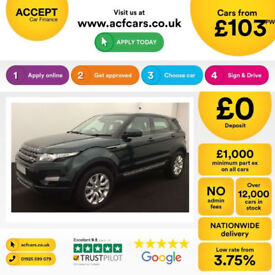 Land Rover Range Rover Evoque Pure FROM £103 PER WEEK!