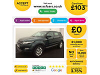 LAND ROVER R/R EVOQUE 2.0 TD4 SE TECH HSE DYNAMIC 4WD LUX 2W FROM £103 PER WEEK!