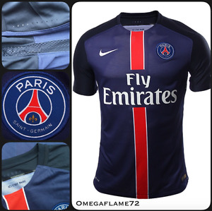 2015 nike paris saint-germain PSG football shirt player issue L