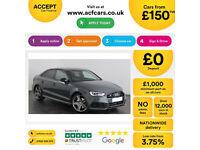 Grey AUDI S3 2.0 Petrol QUATTRO BLACK EDITION S-T FROM £155 PER WEEK!