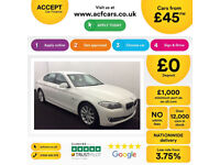 BMW 520 FROM £45 PER WEEK!