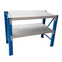 2x0.6x0.9m Garage Warehouse Metal Workbench Rack Shelves Shelving Nunawading Whitehorse Area Preview
