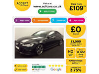 Black AUDI A6 SALOON 2.0 3.0 TDI Diesel SPORT S LINE FROM £109 PER WEEK!