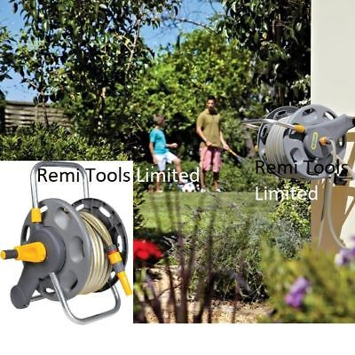 Hozelock - 2477 - Hose Reel With 50m Hose, Stands free or wall montable