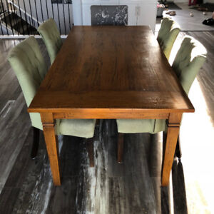 6' Solid Wood Dining Table