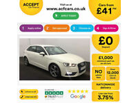 Audi A3 Sport FROM £41 PER WEEK!