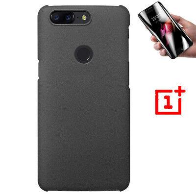 Sandstone Screen (Sandstone Original Slim Hard Back Case Cover+Screen Protector For OnePlus 5T 6 7 )