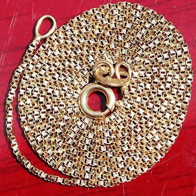 14k 585 yellow gold necklace Italian 20.75