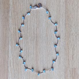 Silver/green necklace, Next