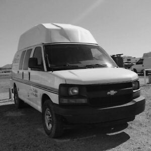 Camper Van Campeur Chevrolet Express 2007 Chevy Fourgonette
