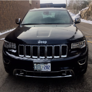 2014 Jeep Grand Cherokee Overland SUV +Advanced Technology Group