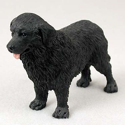 Newfoundland Hand Painted Collectible Dog Figurine