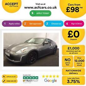 Nissan 370Z V6 Base FROM £98 PER WEEK!