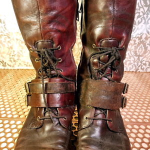 0a0fe244f80 Reduced! Leather Timberland Womens Boots Size 11 Tall Knee High ...