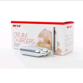 Cream Chargers for Delivery or Pick