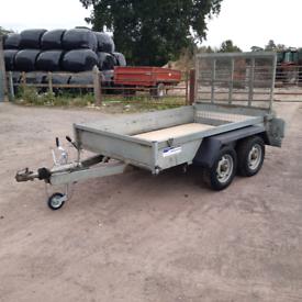 Indespension 8x5 plant trailer