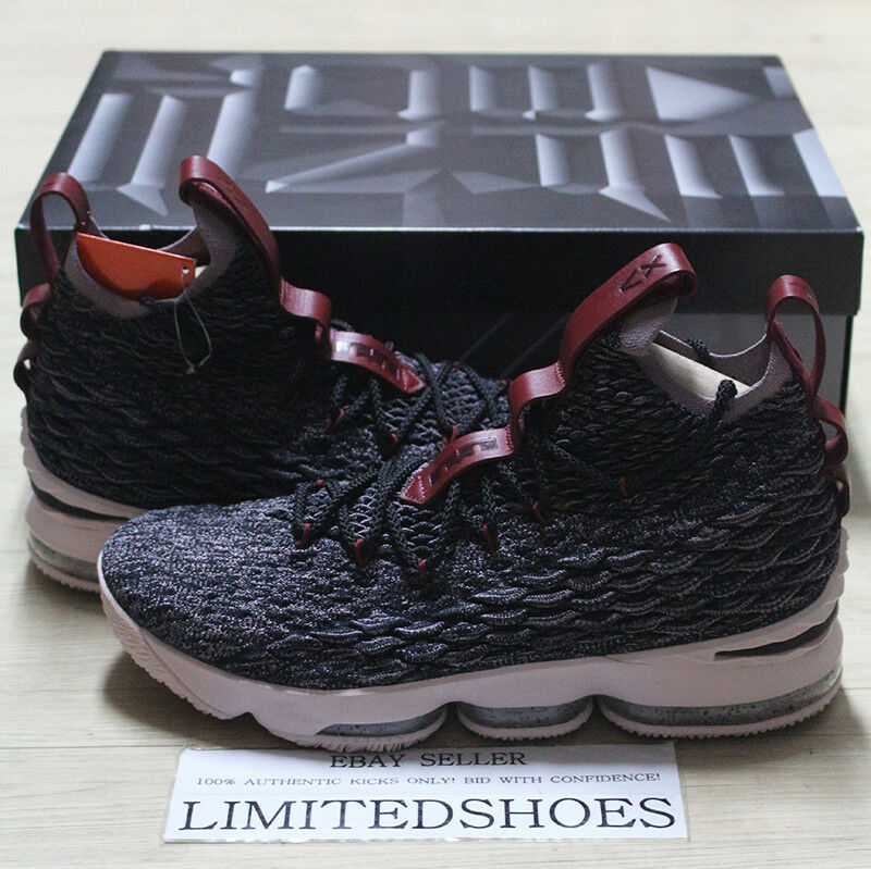 9aa2f2f9187 NIKE LEBRON XV 15 PRIDE OF OHIO BLACK TAUPE GREY 897648-003 bhm ghost kith