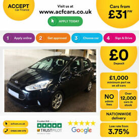 Ford B-Max Zetec FROM £31 PER WEEK!