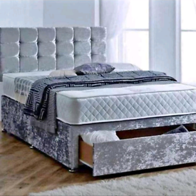 AMAZING DIVAN bed set with luxury mattress and FREE DELIVERY