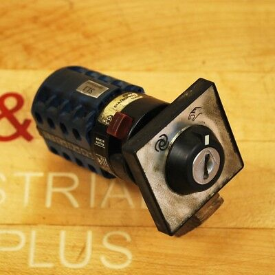 Kraus Naimer Ca10 Sks G86130010 Rotary Load Switch 20 Amp 8 Pole Disconnect