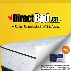 Huge Mattress Sale Online Save 50% - 80% | DirectBed.ca