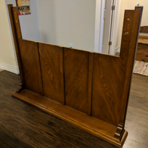Sold - Queen or Double Wooden Head Board