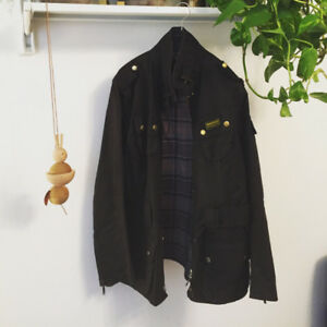 Barbour black waxed cotton ladies coat $$$ when new
