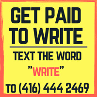 Would You Like to Get paid To Write?
