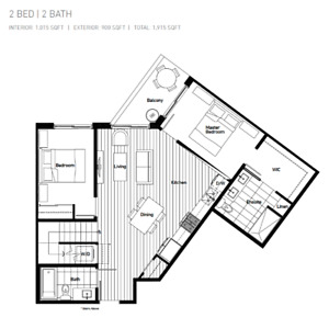 2 Bedroom w/ Private Rooftop - Great assignment in Avalon Park