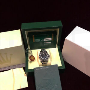 Rolex GMT Master II Ceramic 116710LN Box Papers Chateau D'Ivoir