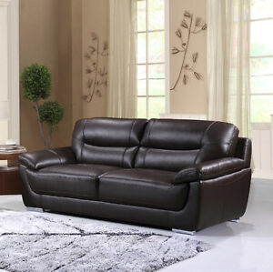 BRYCE GENUINE LEATHER SOFA - $1299 NO TAX & FREE LOCAL DELIVERY