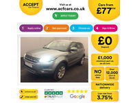 Land Rover Range Rover Evoque FROM £77 PER WEEK!