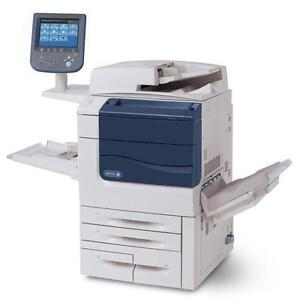 Xerox Color 560 Digital Production Printer Color Copier Copy Mahine 65 PPM Copy Print 2400x2400 DPI Scan - BUY LEASE