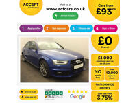 Audi A4 Black Edition PLUS FROM £93 PER WEEK!