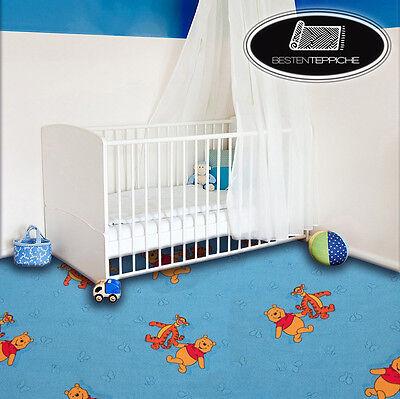 KINDERTEPPICH Teppich DISNEY WINNIE THE POOH, blau, Spielteppich, alle Größen ()