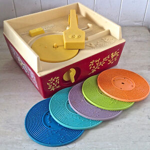 Vintage 1971 Jouet FISHER PRICE Music Box Record Player