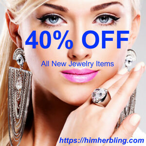 40% OFF All Jewelry - Women and Men's