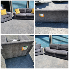 Ex display (new) sofa and chair £230 can deliver