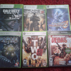 XBOX 360 Call of Duty Ghost and more – 15$
