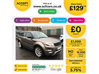 LAND ROVER R/R EVOQUE 2.0 TD4 SE TECH HSE DYNAMIC 4WD LUX 2W FROM £129 PER WEEK!