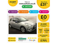 Citroen DS3 CITROEN DS3 DSTYLE DSPORT PLUS DSIGN  FROM £31 PER WEEK!