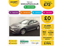 Alfa Romeo Giulietta FROM £72 PER WEEK!