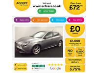 Alfa Romeo Giulietta FROM £72 PER WEEK!