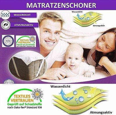 Inkontinenz Matratzenschoner Matratzenschutz Matratzenauflage Wasserdicht 70x140