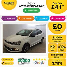 Volkswagen Polo Design FROM £41 PER WEEK!