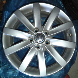 VOLKSWAGEN ALLOY 17 INCH 4 RIMS FOR SALE!!