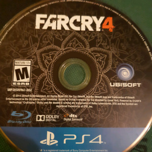 Farcry 4 for ps4