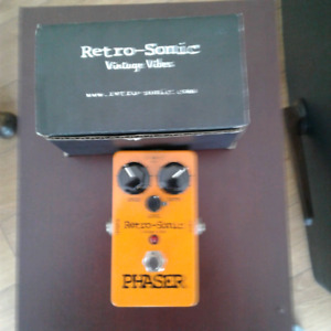 Retro-Sonic handwired Phaser pedal