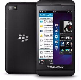blackberry z10 black unlocked